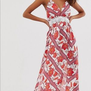 ASOS Parisian floral maxi dress 4